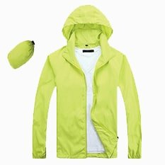 Lightweight Microfiber Jacket 2019 20 lime green - Lightweight Microfiber Jacket (In-A-Bag)