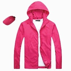 Lightweight Microfiber Jacket 2019 20 pink - Lightweight Microfiber Jacket (In-A-Bag)