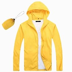 Lightweight Microfiber Jacket 2019 20 yellow - Lightweight Microfiber Jacket (In-A-Bag)