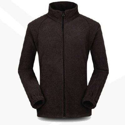 OWC45 BEAM Collar Fleece Zip up Jacket 2019 20 black 400x400 - OWC45 BEAM Collar Fleece Zip-up Jacket