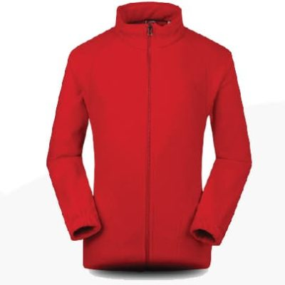OWC45 BEAM Collar Fleece Zip-up Jacket 2019-20 red