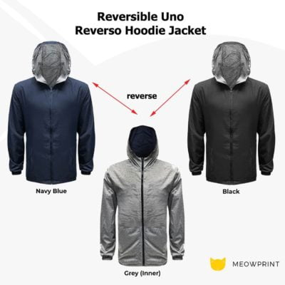 Reversible Uno Reverso Hoodie Jacket 2019-20 catalogue