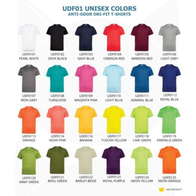 UDF01 Anti-Odor Dri-Fit Eyelet T-Shirts 2019-20 catalogue