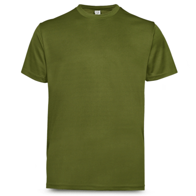 UDF01 Anti-Odor Dri-Fit Eyelet T-Shirts basil green (3)