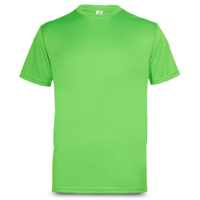 UDF01 Anti-Odor Dri-Fit Eyelet T-Shirts emerald green (2)