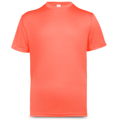 UDF01 Anti-Odor Dri-Fit Eyelet T-Shirts neon pink (3)