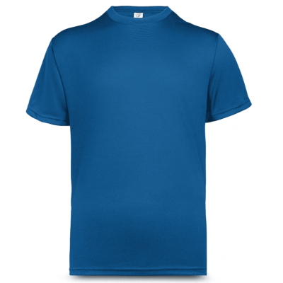 UDF01 Anti-Odor Dri-Fit Eyelet T-Shirts royal blue (4)