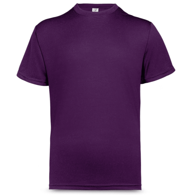 UDF01 Anti-Odor Dri-Fit Eyelet T-Shirts royal purple (3)