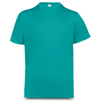 UDF01 Anti-Odor Dri-Fit Eyelet T-Shirts turquoise (1)
