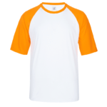 UDF03 Dri Fit Raglan Short Sleeve T Shirts white orange 2 150x150 - UDF03 Dri-Fit Raglan Short Sleeve T-Shirts