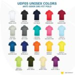 UDF05 Anti-Odor Dri-Fit Polo T-Shirts 2019-20 catalogue unisex