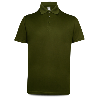 UDF05 Anti-Odor Dri-Fit Polo T-Shirts basil green (2)