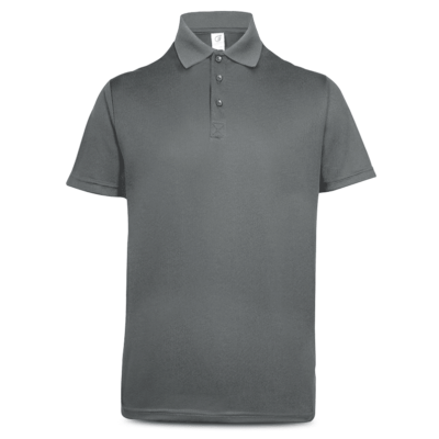 UDF05 Anti-Odor Dri-Fit Polo T-Shirts iron grey (3)
