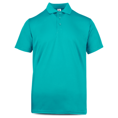 UDF05 Anti-Odor Dri-Fit Polo T-Shirts turquoise (3)