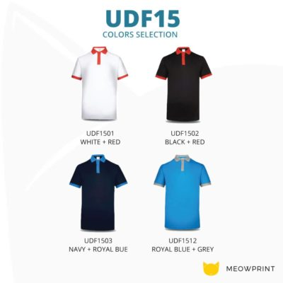 UDF15 Freedom Anti-Odor Polo T-Shirt 2019-20 catalogue