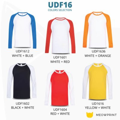 UDF16 Dri-Fit Raglan Long Sleeve T-Shirts 2019-20 catalogue