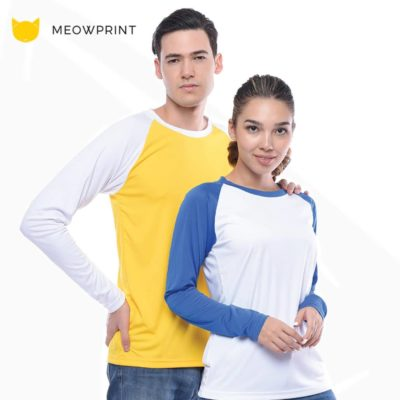 UDF16 Dri-Fit Raglan Long Sleeve T-Shirts 2019-20 model 1