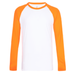 UDF16 Dri Fit Raglan Long Sleeve T Shirts white orange 3 150x150 - UDF16 Dri-Fit Raglan Long Sleeve T-Shirts