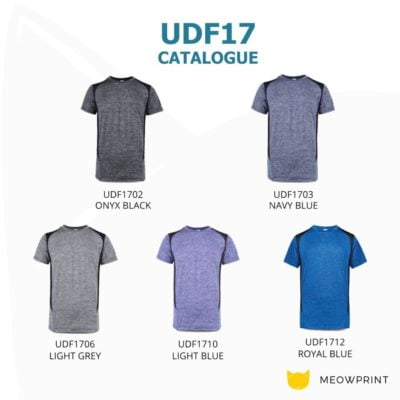 UDF17 Edge Anti-Odor Heather Dri-Fit T-Shirt 2019-20 catalogue