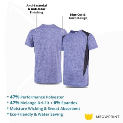 UDF17 Edge Anti-Odor Heather Dri-Fit T-Shirt 2019-20 details