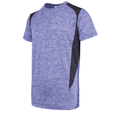 UDF17 Edge Anti-Odor Heather Dri-Fit T-Shirt light blue (3)