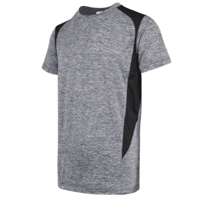 UDF17 Edge Anti-Odor Heather Dri-Fit T-Shirt light grey (1)