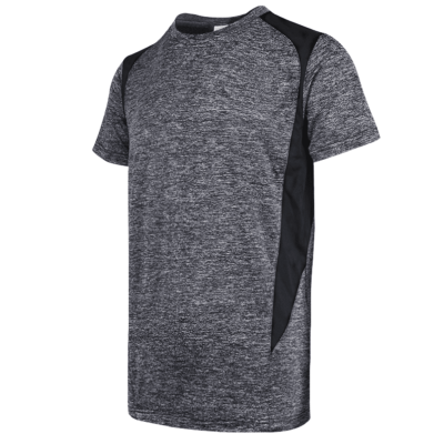 UDF17 Edge Anti-Odor Heather Dri-Fit T-Shirt onyxblack (1)