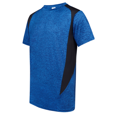 UDF17 Edge Anti-Odor Heather Dri-Fit T-Shirt royal blue (3)