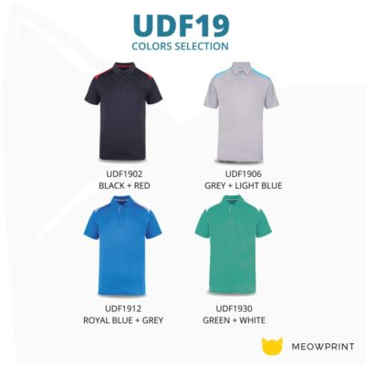 UDF19 T-Max Anti-Odor Polo T-Shirt 2019-20 catalogue