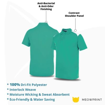 UDF19 T-Max Anti-Odor Polo T-Shirt 2019-20 details