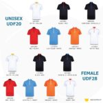 UDF20 Oriental Anti-Odor Mandarin Collar Polo T-Shirt 2019-20 catalogue