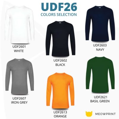 UDF26 Anti-Odor Long-Sleeves Dri-Fit Eyelet T-Shirts 2019-20 catalogue