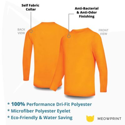 UDF26 Anti-Odor Long-Sleeves Dri-Fit Eyelet T-Shirts 2019-20 details