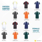 UDF33 Bi-Cross Anti-Odor Polo T-Shirt 2019-20 catalogue