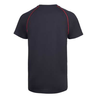UDP08 Vov Piping Dri Fit T-Shirts black red (2)