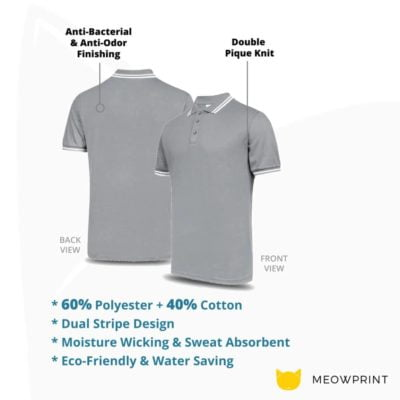 UH02 FD Twin Tipped Anti-Odor Polo T-Shirt 2019-20 details
