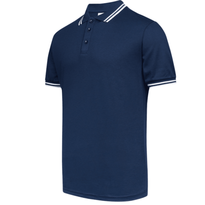 UH02 FD Twin Tipped Anti-Odor Polo T-Shirt navy (3)