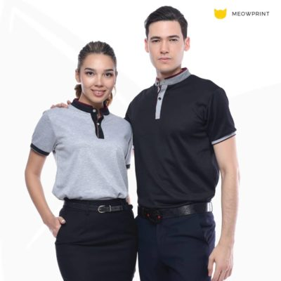 UH03 Ace Anti-Odor Mandarin Collar Polo T-Shirt 2019-20 model 1