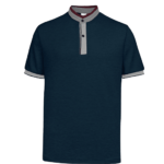 UH03 Ace Anti Odor Mandarin Collar Polo T Shirt navy grey red 1 150x150 - UH03 Ace Anti-Odor Mandarin Collar Polo T-Shirt