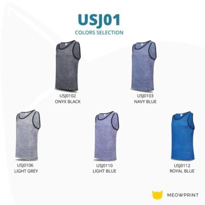 USJ01 Anti-Odor Heather Singlets 2019-20 catalogue