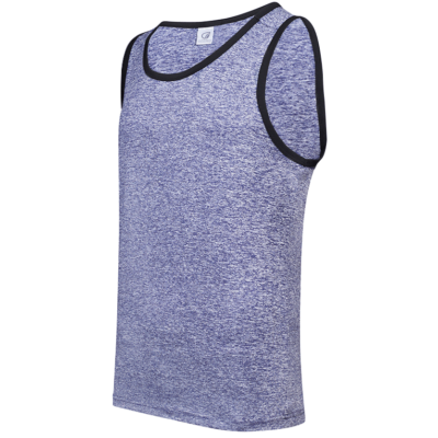 USJ01 Anti-Odor Heather Singlets light blue (1)