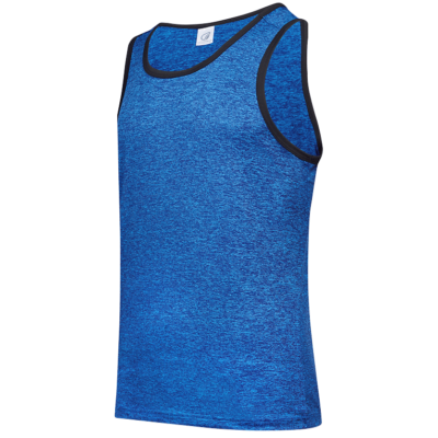 USJ01 Anti-Odor Heather Singlets light blue (4)