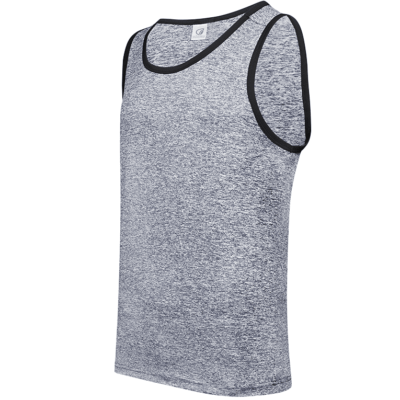 USJ01 Anti-Odor Heather Singlets light grey (1)