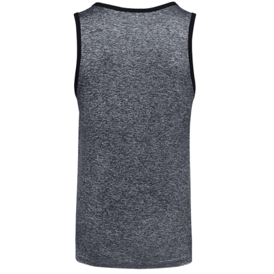 USJ01 Anti-Odor Heather Singlets onyx black (2)