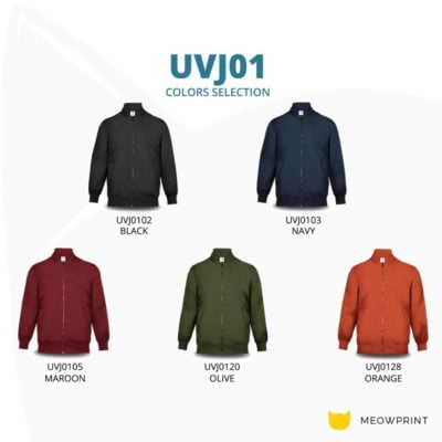 UVJ01 Anti-Odor Bomber Jacket 2019-20 catalogue