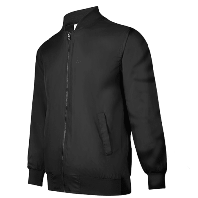 UVJ01 Anti-Odor Bomber Jacket (black) (1)