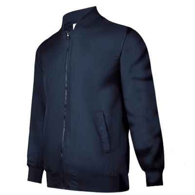 UVJ01 Anti-Odor Bomber Jacket (navy) (3)