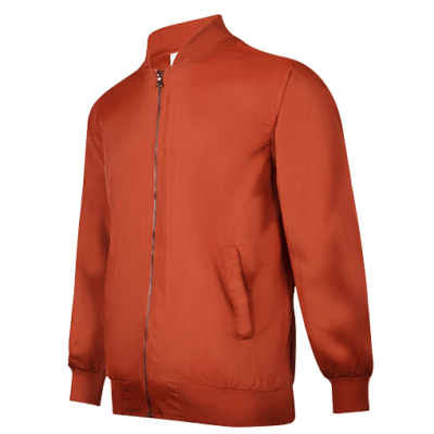 UVJ01 Anti-Odor Bomber Jacket (orange) (2)