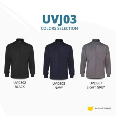 UVJ03 Full Moon Anti-Odor Zip-Up Jacket 2019-20 catalogue