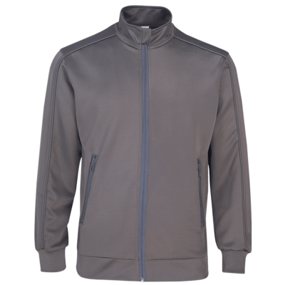 UVJ03 Full Moon Anti-Odor Zip-Up Jacket light grey (1)